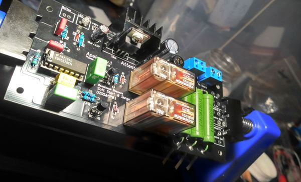 Power supply unit soft start and surge protection module