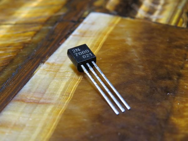 JC 2N7000 MOSFET (N-Channel)